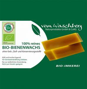 Bio-Bienenwachs vomWaschberg