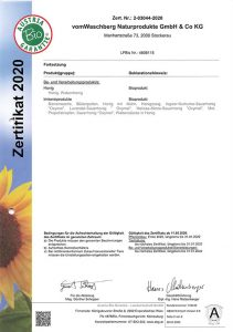 BIO Zertifikat 2020 Seite 3